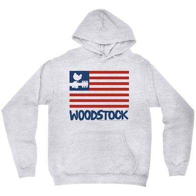 Woodstock Hoodie   The Woodstock Flag Woodstock Hoodie