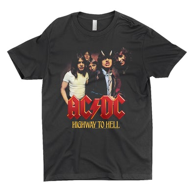 AC/DC T-Shirt | Highway To Hell Album Cover Art ACDC Shirt