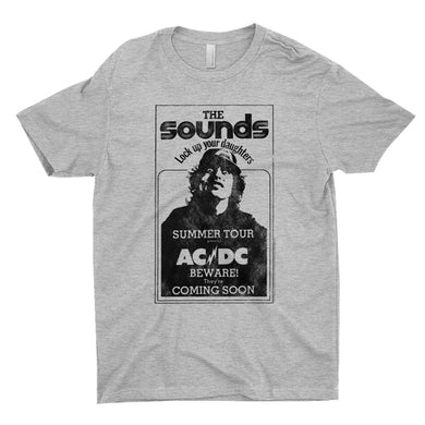 AC/DC T-Shirt | The Sounds Summer Concert Tour ACDC Shirt