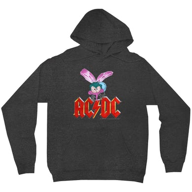 AC/DC Hoodie   Fly On The Wall Concert Tour Poster ACDC Hoodie