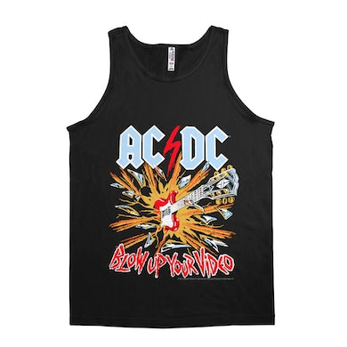 AC/DC Unisex Tank Top | Blow Up Your Video Primary Colors ACDC Shirt