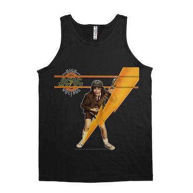 AC/DC Unisex Tank Top   High Voltage Album Art Design ACDC Shirt