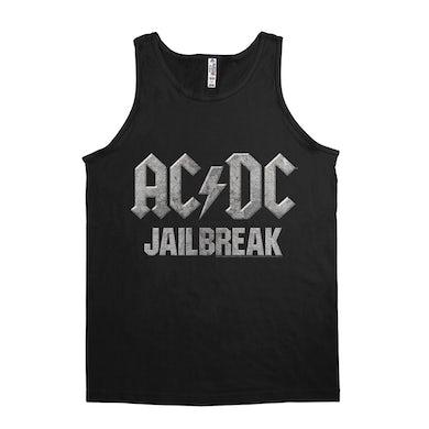AC/DC Unisex Tank Top   Jailbreak Concrete Design ACDC Shirt