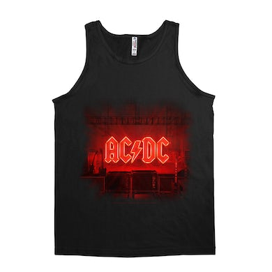 AC/DC Unisex Tank Top   PWR Up Album Cover ACDC Shirt