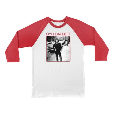 Syd Barrett 3/4 Sleeve Baseball Tee | Syd On The Street Syd Barrett Shirt