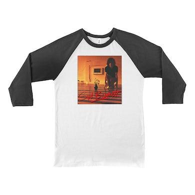 Syd Barrett 3/4 Sleeve Baseball Tee | The Madcap Laughs Album Cover Syd Barrett Shirt (Merchbar Exclusive)