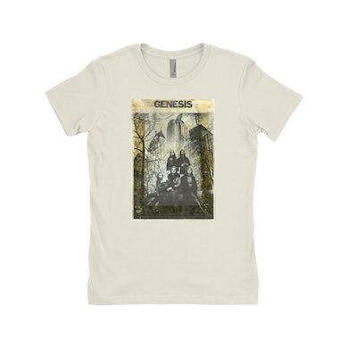 Genesis Ladies' Boyfriend T-Shirt | Genesis In NYC Photo Distressed Genesis Shirt