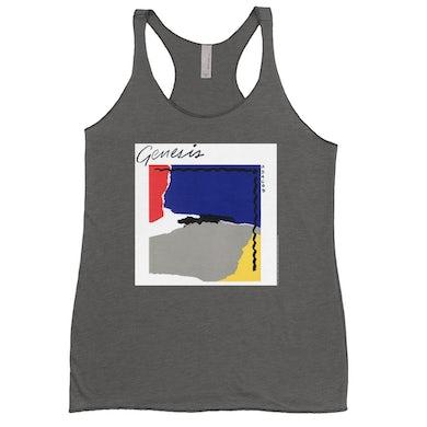 Genesis Ladies' Tank Top | Abacab Album Cover Primary Colors Genesis Shirt