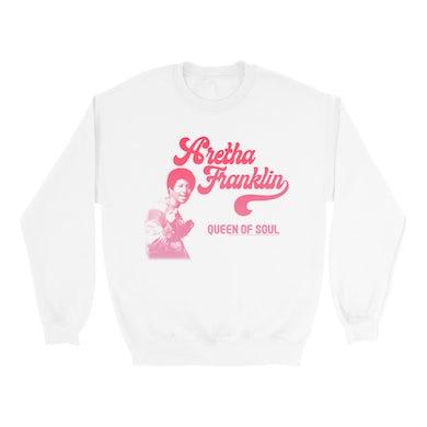 Aretha Franklin   Sweatshirt   Aretha Franklin The Queen Of Soul Design Aretha Franklin Sweatshirt