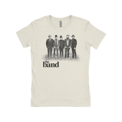 The Band Ladies' Boyfriend T-Shirt | The Band Group Photo The Band Shirt