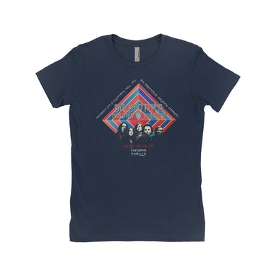 Big Brother And The Holding Company Big Brother and The Holding Co. Ladies' Boyfriend T-Shirt | Cheaper Thrills Album Cover Big Brother and The Holding Co. Shirt