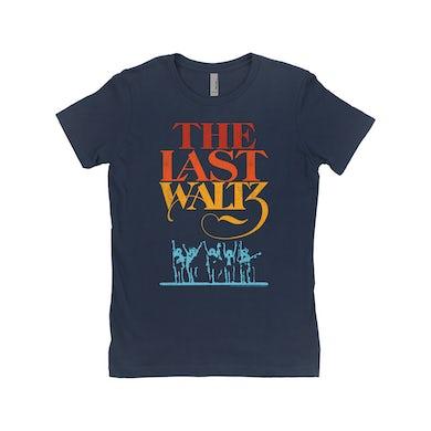 The Band Ladies' Boyfriend T-Shirt | The Last Waltz Movie Logo The Band Shirt