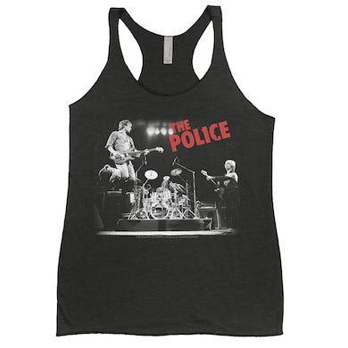 The Police Ladies' Tank Top | Concert Tour Photo The Police Shirt