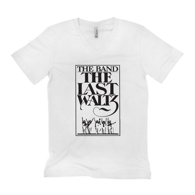 The Band Unisex V-neck T-Shirt | The Last Waltz Concert The Band Shirt
