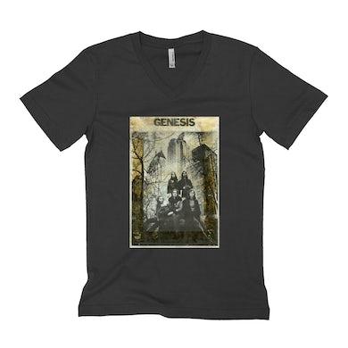 Genesis Unisex V-neck T-Shirt | Genesis In NYC Photo Distressed Genesis Shirt
