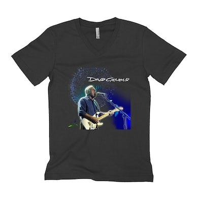 David Gilmour Unisex V-neck T-Shirt   David Gilmour Singing Design David Gilmour Shirt