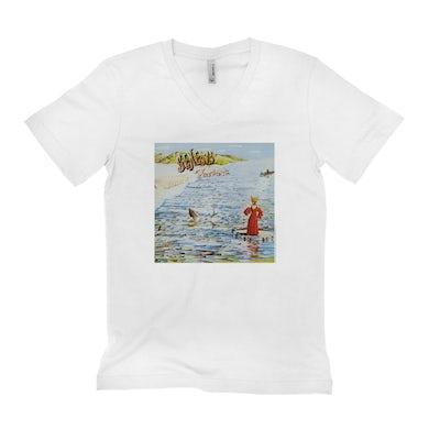 Genesis Unisex V-neck T-Shirt | Genesis Foxtrot Album Cover Genesis Shirt