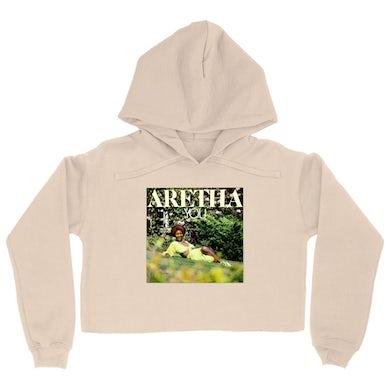 Aretha Franklin   Hoodie   You Album Cover Aretha Franklin Crop Hoodie