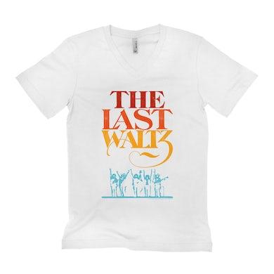 The Band Unisex V-neck T-Shirt | The Last Waltz Movie Logo The Band Shirt