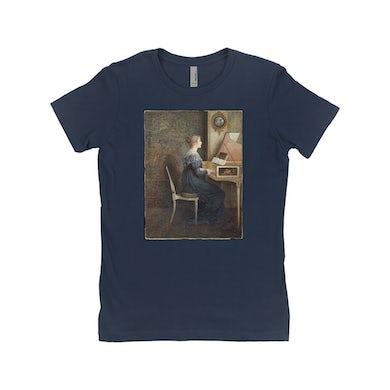 Merchbar Museum Series Ladies' Boyfriend T-Shirt | An Old Song Merchbar Museum Series Shirt