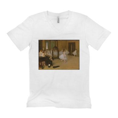 Merchbar Museum Series Unisex V-neck T-Shirt | The Dancing Class Merchbar Museum Series Shirt