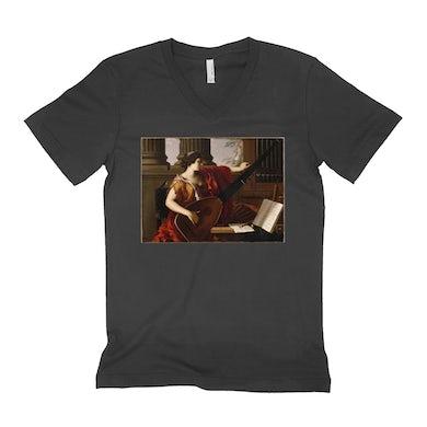 Merchbar Museum Series Unisex V-neck T-Shirt | Allegory of Music Merchbar Museum Series Shirt