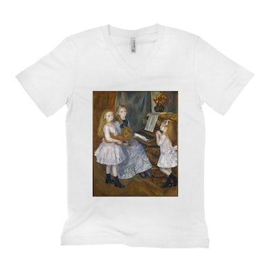 Merchbar Museum Series Unisex V-neck T-Shirt | The Daughters of Catulle Mendès Merchbar Museum Series Shirt