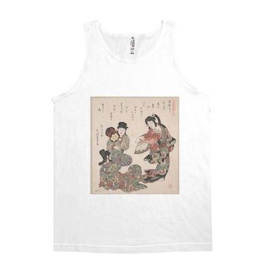 Merchbar Museum Series Unisex Tank Top | Three Girls Singing and Dancing Merchbar Museum Series Shirt