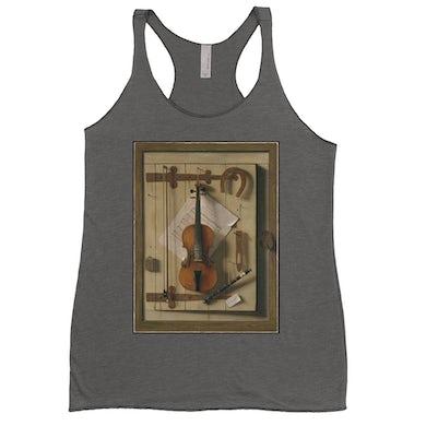 Merchbar Museum Series Ladies' Tank Top | Still Life—Violin and Music Merchbar Museum Series Shirt