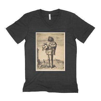 Merchbar Museum Series Unisex V-neck T-Shirt | Carlo Cantu called Buffetto Merchbar Museum Series Shirt