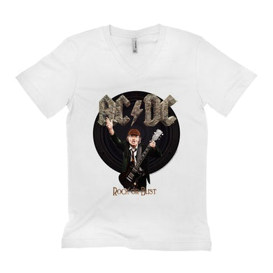 Rock Or Bust Album With Angus Young Shirt