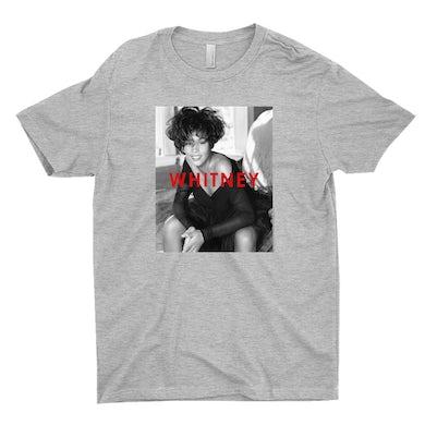 Whitney Houston T-Shirt | Bold Black And White Cover Whitney Houston Shirt