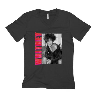 Whitney Pink And Red Design Distressed Shirt