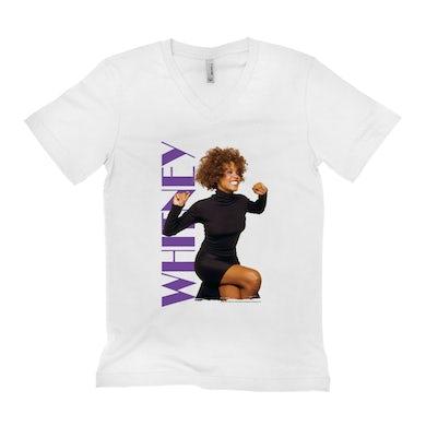 Whitney Photo And Purple Logo Image Shirt