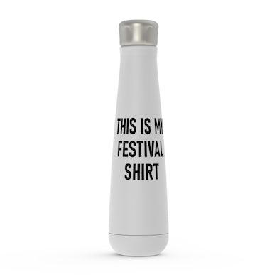 Merchbar Music Life Water Bottle   This Is My Festival Merchbar Music Life Water Bottle