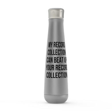 Merchbar Music Life Water Bottle   Record Collection Bully Merchbar Music Life Water Bottle