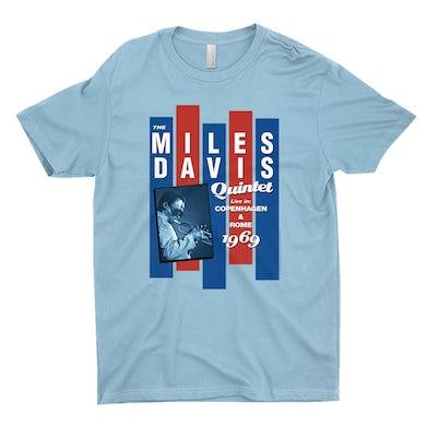 Miles Davis T-Shirt | Miles Quintet Concert Flyer Miles Davis Shirt