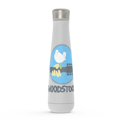 Woodstock Peristyle Water Bottle | Woodstock Bird And Guitar Woodstock Water Bottle