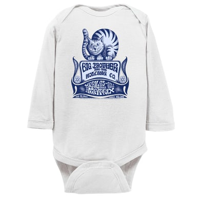 Big Brother and The Holding Company Long Sleeve Onesie | Big Brother And The Holding Company Feat. Janis Joplin The Matrix Concert Flyer Big Brother and The Holding Company Onesie