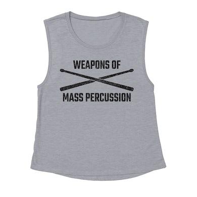 Merchbar Music Life Muscle Tank   Weapons Of Mass Percussion Merchbar Music Life Tank Top
