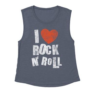 Merchbar Music Life Muscle Tank   I Heart Rock n' Roll Merchbar Music Life Tank Top