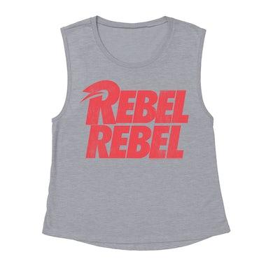 Rebel Rebel Logo Distressed Shirt