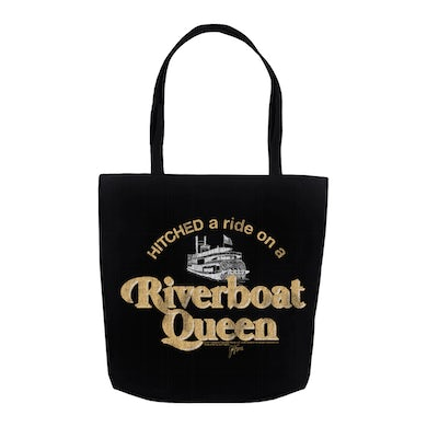 Riverboat Queen Distressed Bag