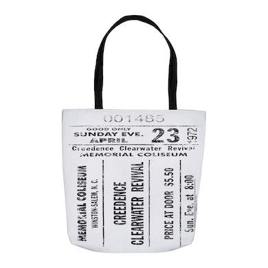 Concert Ticket Stub Distressed Bag