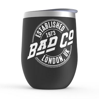 Established 1973 London UK Logo Stemless Wine Tumbler
