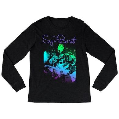 Syd Barrett Heather Long Sleeve Shirt | Syd Psychedelic Design Syd Barrett Shirt