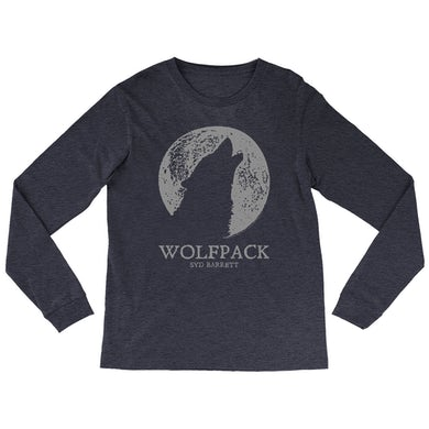 Syd Barrett Heather Long Sleeve Shirt | Wolfpack Distressed Syd Barrett Shirt