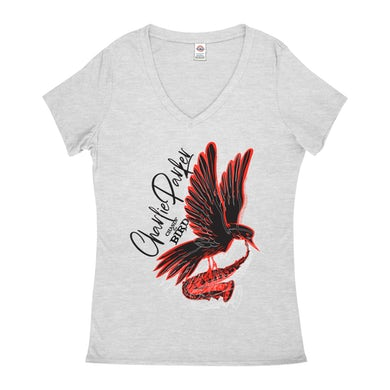 Chasin' The Bird Black And Red Design Shirt