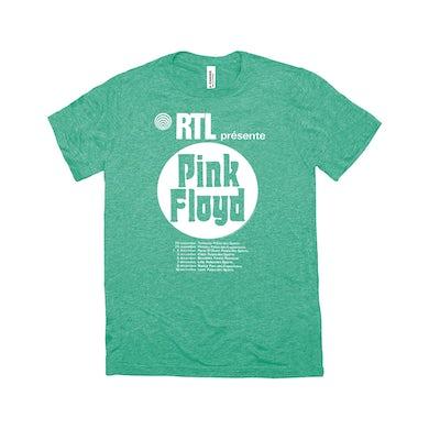Pink Floyd Triblend T-Shirt | RTL Presente Concert Flyer Pink Floyd Shirt