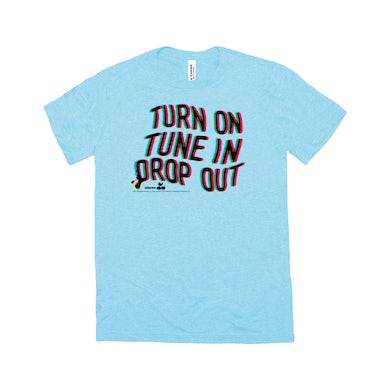 Woodstock Triblend T-Shirt | Turn On Tune In Drop Out Woodstock Shirt